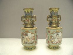 Pair of vases