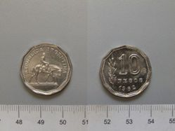 1 Peso from Argentina