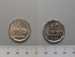 10 Pesos of the Republic of Argentina