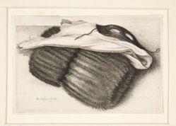 Muff, handkerchief and mask