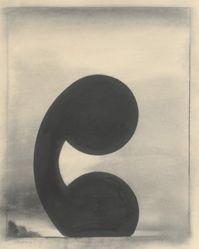 Untitled (Black Lead Saturn)