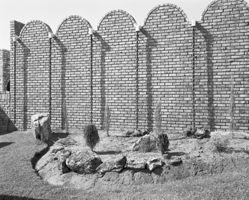 Garage wall of a house, Verwoedburg, Transvaal