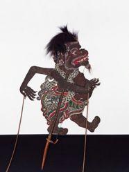 Shadow Puppet (Wayang Kulit) of Cupak