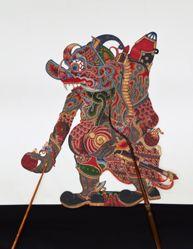 Shadow Puppet (Wayang Kulit) of Buta Babrah