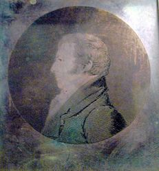 Copper plate for Theodore Gourdin (1764-1826)