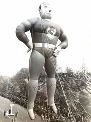 Untitled (Superman at Parade in Central Park)