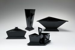 """Console bowl, """"Modernistic"""" pattern"""