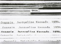 Untitled (Jacqueline Kennedy Onassis)