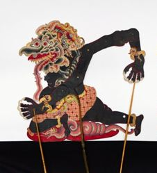 Shadow Puppet (Wayang Kulit) of Monster Kodok