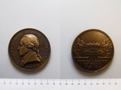 Bronze medal commemorating the bicentennial of the birth of George Washington