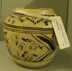 Jar with Figures in Landscape