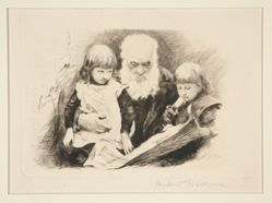 Herkomer's Father and Children