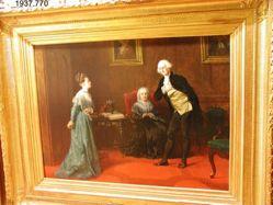 George Washington and Miss Custis