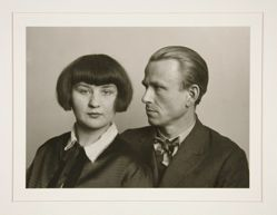 The Painter Otto Dix and Wife