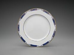 "Four-piece place setting, ""Swag"" pattern"
