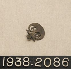 Pierced Bronze Decoration (Strap Ornament)