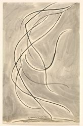 "Dance Abstraction: Isadora Duncan. (or ""Rhythmic Line"")"