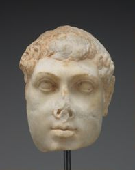 Portrait head of Ptolemy VIII