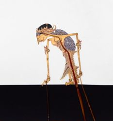 Shadow Puppet (Wayang Kulit) of Rara Ireng, from the consecrated set Kyai Nugroho