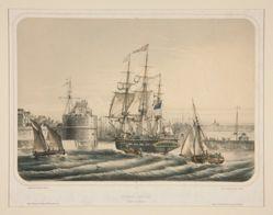 Paquebot americain (Entre du Havre)