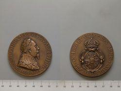 Gustavus Adolphus II tercentennial commemorative medal