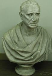 Portrait Bust of David Daggett