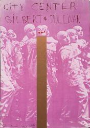 City Center, Gilbert & Sullivan, from the portfolio Seven Serigraphs by Seven Artists