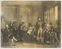 Louis-Philippe Teaching Geography at the Collège de Reichenau