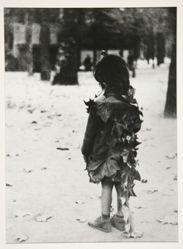 Petite fille aux feuilles mortes, Paris 1947, from the portfolio: Edouard Boubat, 1981