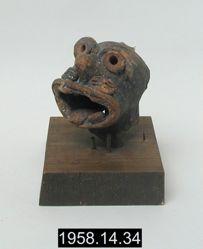 Figurine animal head