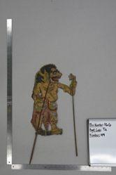 Shadow Puppet (Wayang Kulit) of Buta Agul-Agul