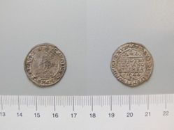 Silver Groat of Charles I from Oxford