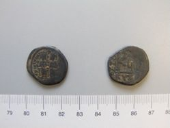 Half-Follis (20-nummi) of Justin II from Cyzicus