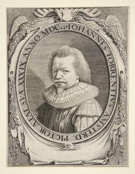 Portrait of Johannes Torrentius