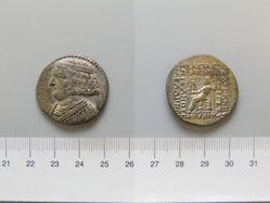 Tetradrachm of Orodes II from Seleucia ad Tigris