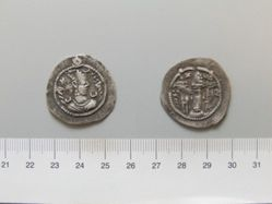 Silver drachm of Kobad I from Persia