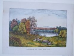 Autumn on Lake George.