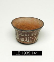 Small round-bottomed cup bowl