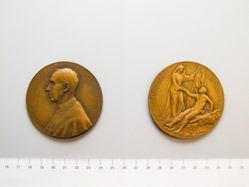 Belgian Medal for Cardinal Mercier