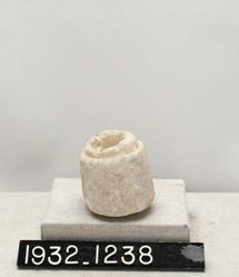 Small Marble Vessel (Inkwell?)