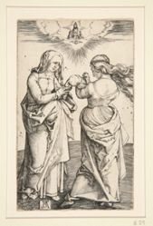 The Virgin Mary with the Infant Jesus and Saint  Anne