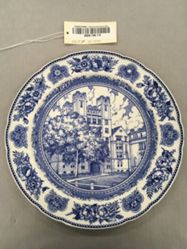 Plate with view of  Vanderbilt-Science Hall