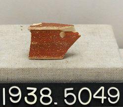 terracotta rim sherd