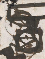 Untitled [Study for Portrait of Nijinsky]