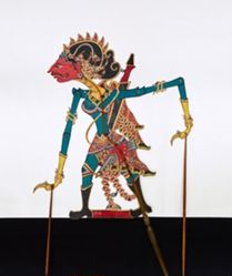 Shadow Puppet (Wayang Kulit) of Permani or Permoni