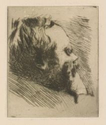 Portrait of Edgar Degas