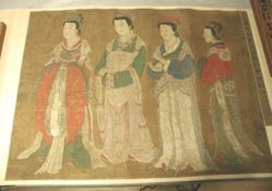Empress Wu and Her Three Attendants