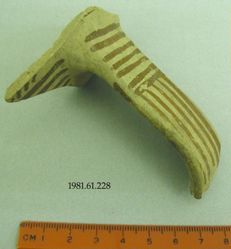 Fragment of handle and body