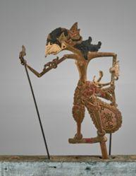 Puppet (Wayang Klitik) possibly of Abimanyu