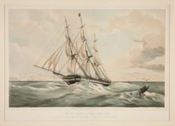 The New York & London Packet Ship Southampton